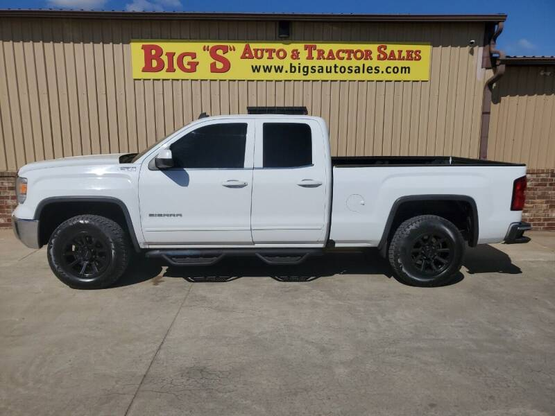 2014 GMC Sierra 1500 for sale at BIG 'S' AUTO & TRACTOR SALES in Blanchard OK