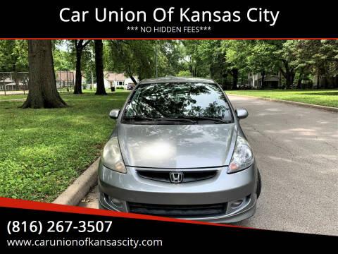 2008 Honda Fit for sale at Car Union Of Kansas City in Kansas City MO