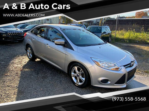 2014 Ford Focus for sale at A & B Auto Cars in Newark NJ