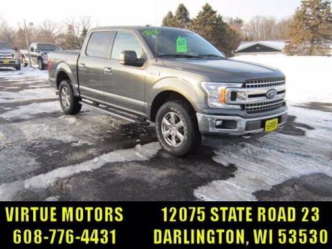 2018 Ford F-150 for sale at Virtue Motors in Darlington WI