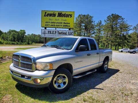 2004 Dodge Ram Pickup 1500 for sale at Lewis Motors LLC in Deridder LA