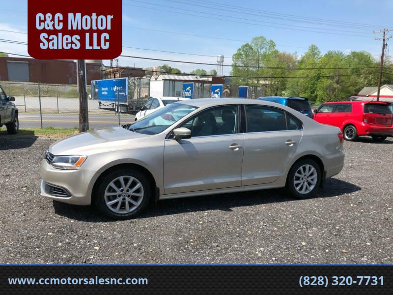 2013 Volkswagen Jetta for sale at C&C Motor Sales LLC in Hudson NC