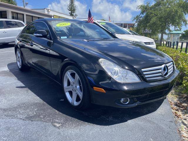 2007 Mercedes-Benz CLS for sale at Mike Auto Sales in West Palm Beach FL