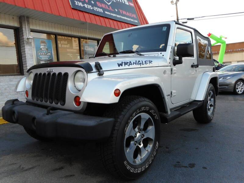 2007 Jeep Wrangler for sale at Super Sports & Imports in Jonesville NC