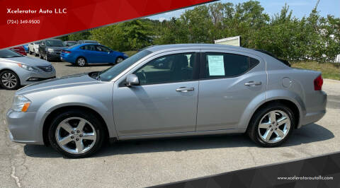 2014 Dodge Avenger for sale at Xcelerator Auto LLC in Indiana PA