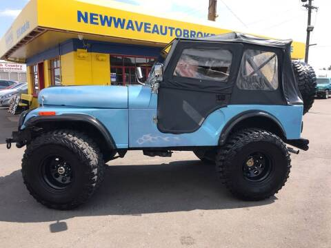 1981 Jeep CJ-5 for sale at New Wave Auto Brokers & Sales in Denver CO