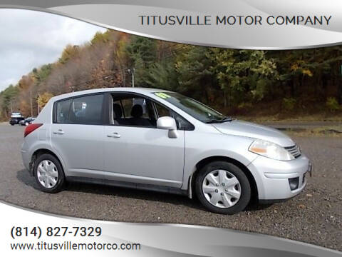 2008 Nissan Versa for sale at Titusville Motor Company in Titusville PA