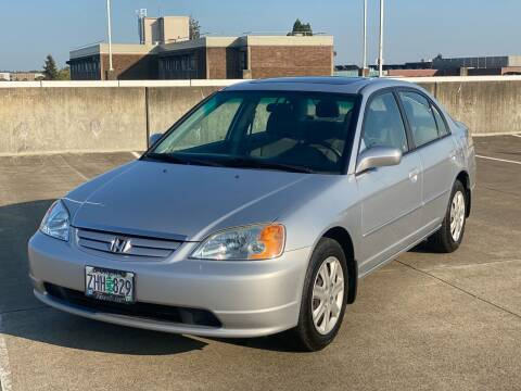 2003 Honda Civic for sale at Rave Auto Sales in Corvallis OR