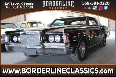 1971 Lincoln Continental for sale at Borderline Classics in Dinuba CA