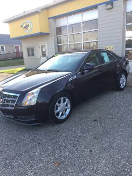 2008 Cadillac CTS for sale at Hines Auto Sales in Marlette MI