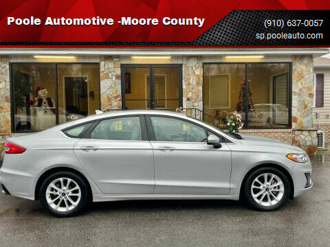 2019 Ford Fusion for sale at Poole Automotive -Moore County in Aberdeen NC