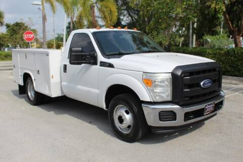2012 Ford F-350 Super Duty for sale at Truck and Van Outlet in Miami FL