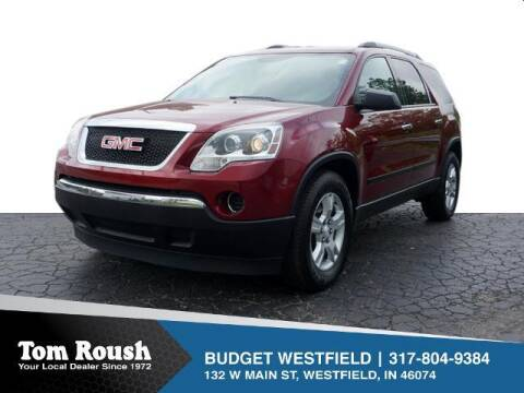 2011 GMC Acadia for sale at Tom Roush Budget Westfield in Westfield IN