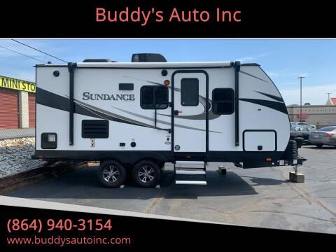 2019 Heartland RVs 189 MB Sundance for sale at Buddy's Auto Inc in Pendleton, SC