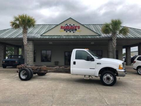2000 Ford F-450 Super Duty for sale at Rabeaux's Auto Sales in Lafayette LA
