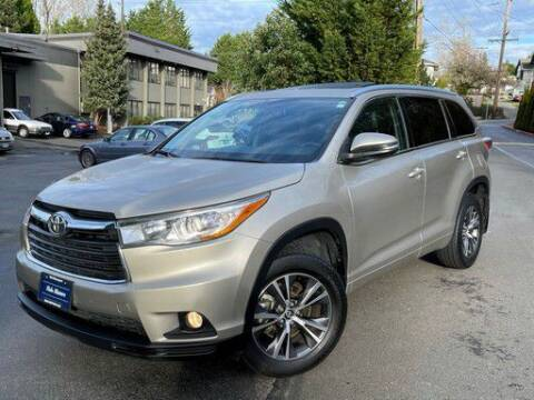 2016 Toyota Highlander for sale at Halo Motors in Bellevue WA