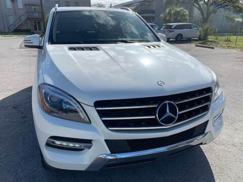 2014 Mercedes-Benz M-Class for sale at Consumer Auto Credit in Tampa FL
