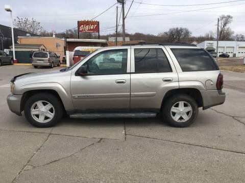 2002 Chevrolet TrailBlazer for sale at Gordon Auto Sales LLC in Sioux City IA