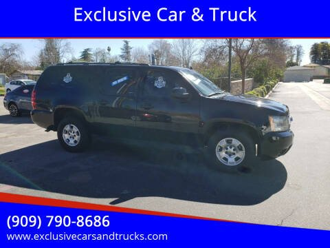 2013 Chevrolet Suburban for sale at Exclusive Car & Truck in Yucaipa CA