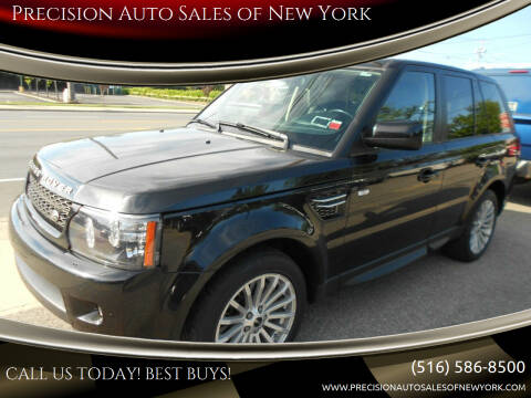 2012 Land Rover Range Rover Sport for sale at Precision Auto Sales of New York in Farmingdale NY