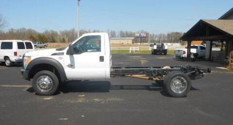 2014 Ford F-550 Super Duty for sale at KNOBEL AUTO SALES, LLC in Brookland AR