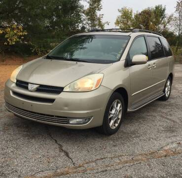 2005 Toyota Sienna for sale at STARLITE AUTO SALES LLC in Amelia OH