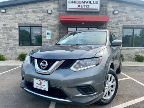 2016 Nissan Rogue for sale at GREENVILLE AUTO in Greenville WI