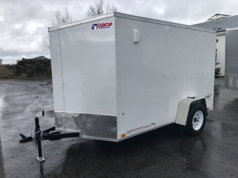 2021 Pace American 6x10 V-Nose Single Axle for sale at Forkey Auto & Trailer Sales in La Fargeville NY