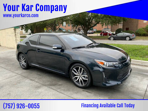 2016 Scion tC for sale at Your Kar Company in Norfolk VA