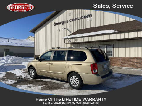 2011 Kia Sedona for sale at GEORGE'S CARS.COM INC in Waseca MN
