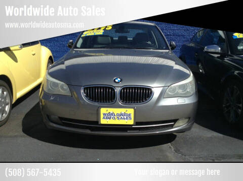 2009 BMW 5 Series for sale at Worldwide Auto Sales in Fall River MA