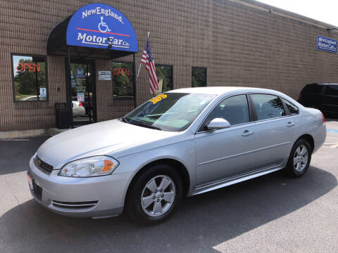 2011 Chevrolet Impala for sale at CJ Clark's New England Motor Car Company in Hudson NH