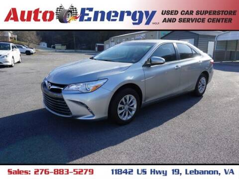 2017 Toyota Camry for sale at Auto Energy in Lebanon VA
