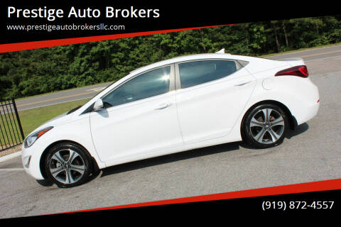 2015 Hyundai Elantra for sale at Prestige Auto Brokers in Raleigh NC