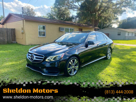2014 Mercedes-Benz E-Class for sale at Sheldon Motors in Tampa FL