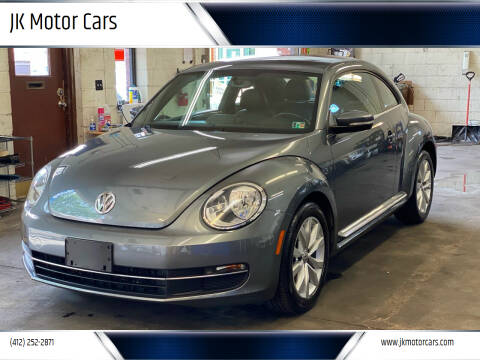 2013 Volkswagen Beetle for sale at JK Motor Cars in Pittsburgh PA