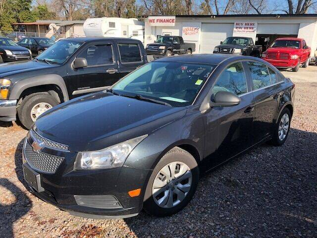 2012 Chevrolet Cruze for sale at Harley's Auto Sales in North Augusta SC
