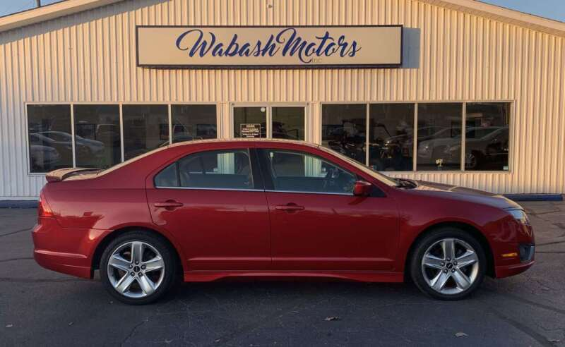 2012 Ford Fusion for sale at Wabash Motors in Terre Haute IN