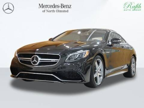 2016 Mercedes-Benz S-Class for sale at Mercedes-Benz of North Olmsted in North Olmstead OH
