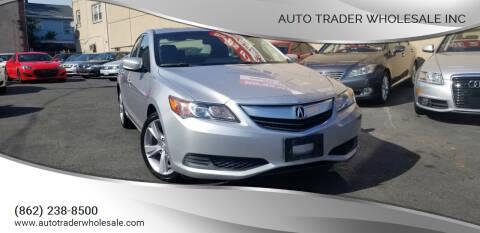 2014 Acura ILX for sale at Auto Trader Wholesale Inc in Saddle Brook NJ