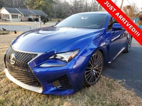 2015 Lexus RC F for sale at Impex Auto Sales in Greensboro NC