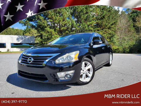 2015 Nissan Altima for sale at MBM Rider LLC in Alpharetta GA