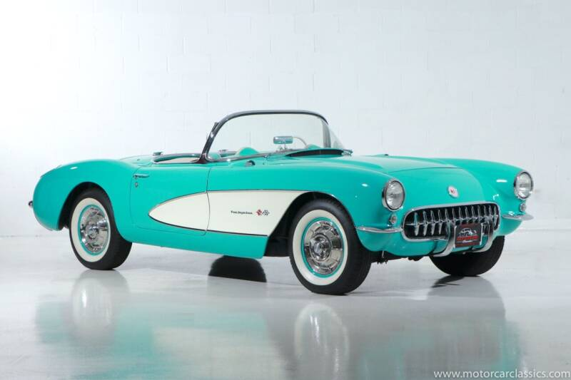 1957 Chevrolet Corvette for sale at Motorcar Classics in Farmingdale NY