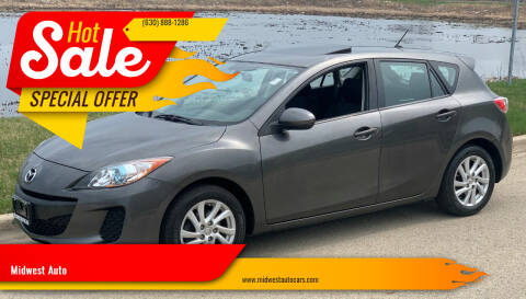 2012 Mazda MAZDA3 for sale at Midwest Auto in Naperville IL