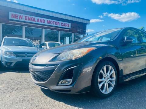 2010 Mazda MAZDA3 for sale at New England Motor Cars in Springfield MA