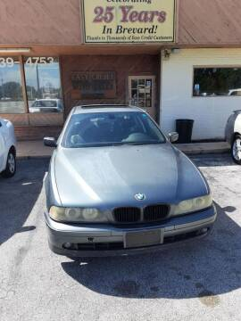 2003 BMW 5 Series for sale at Easy Credit Auto Sales in Cocoa FL