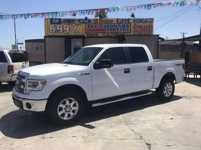 2014 Ford F-150 for sale at DEL CORONADO MOTORS in Phoenix AZ