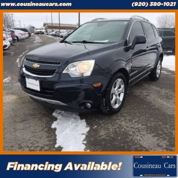 2014 Chevrolet Captiva Sport for sale at CousineauCars.com in Appleton WI