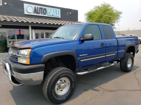2003 Chevrolet Silverado 2500HD for sale at Auto Hall in Chandler AZ