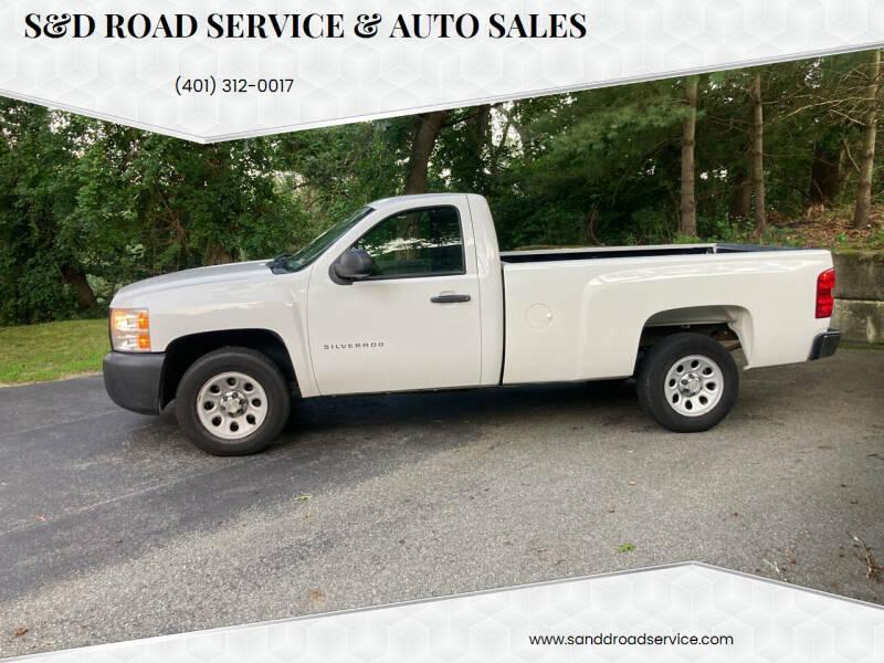 2011 Chevrolet Silverado 1500 for sale at S&D Road Service & Auto Sales in Cumberland RI